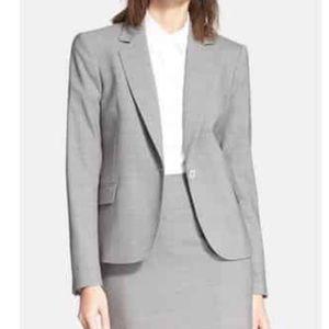 Theory Gabe Custom Frosted Gray jacket 12 NWT
